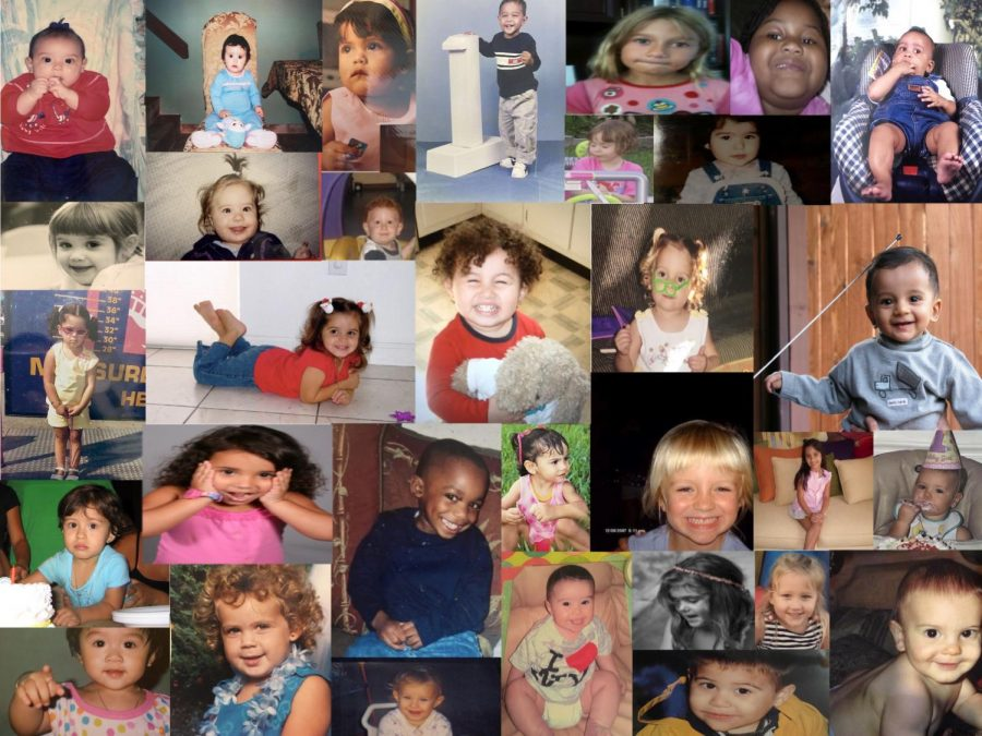 The faces of the babies that had not learned to dream big yet, but always  knew they wanted to leave their handprint on the world.